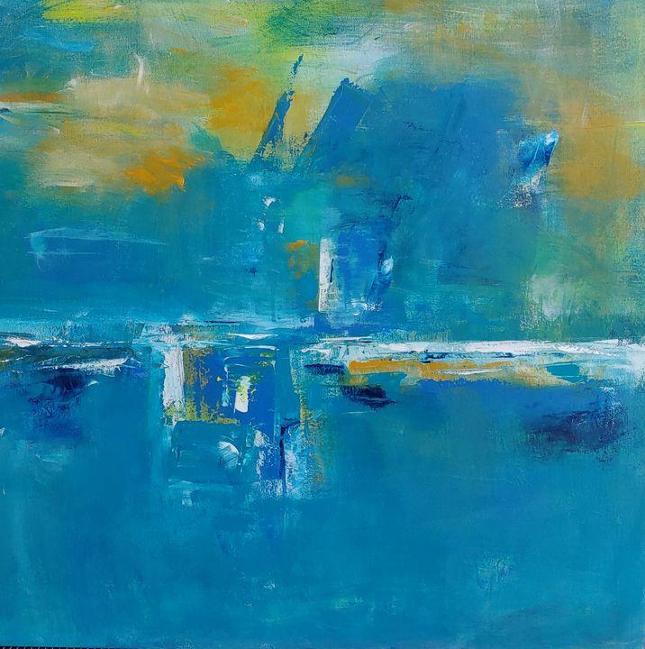 Blue Bayou - Rose Cofield Art