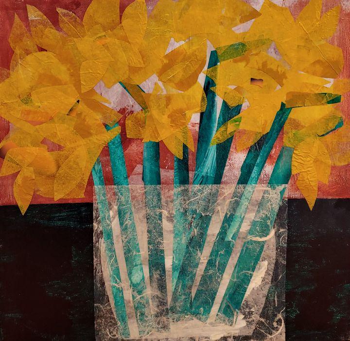 Daffodils - Rose Cofield Art