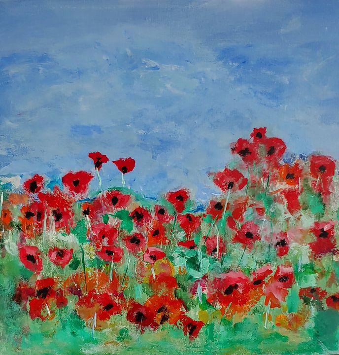 """""""Uncommon Poppy"""" - Rose Cofield Art"""