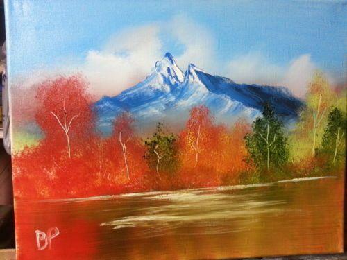 Fall Mountain - landscape arts