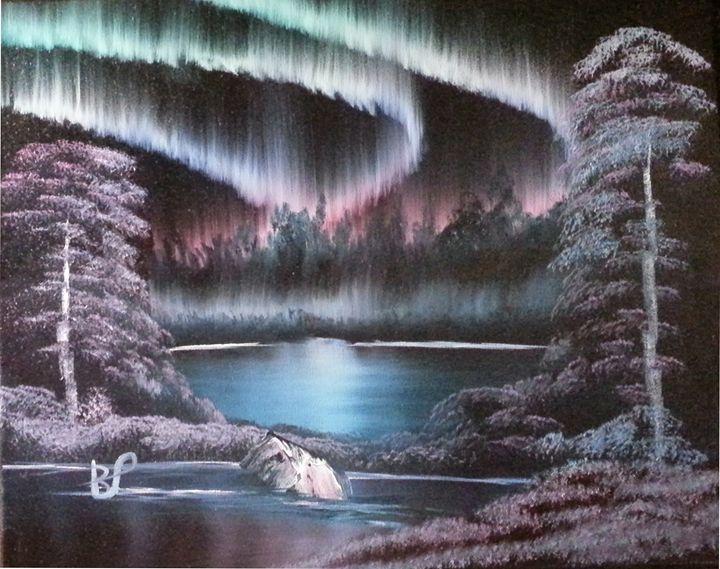 Northern Lights - landscape arts