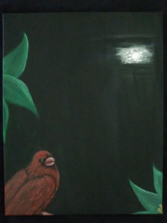 Bird in the night - Zeraida Santos