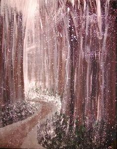 Winter Wood Forrest