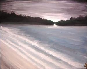Calming of the ocean