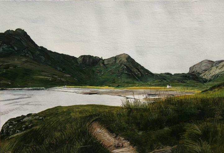 Camasunary island Skye Scotland - basart