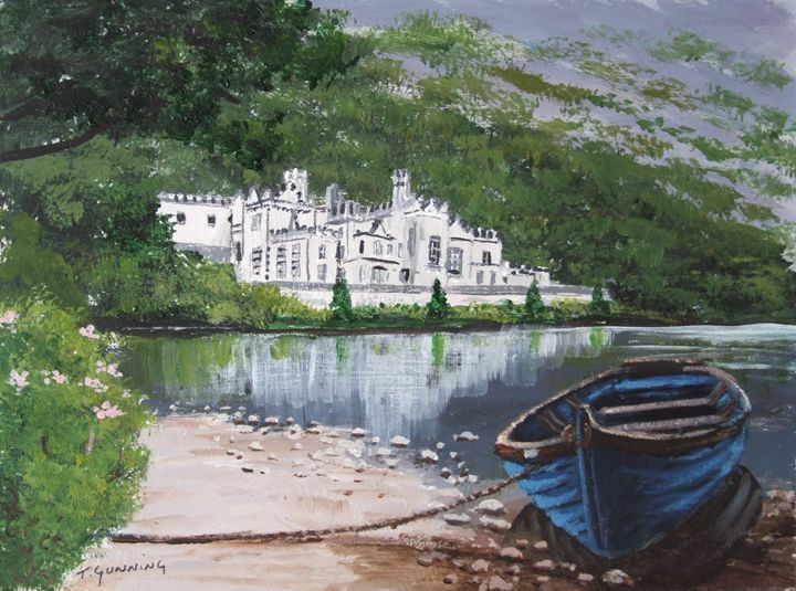 Kylemore Abbey - Blue Sky Art