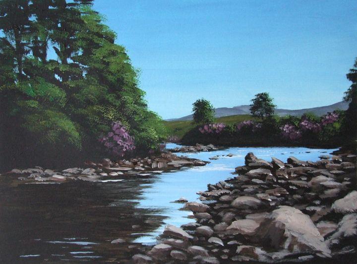 Erriff River - Blue Sky Art