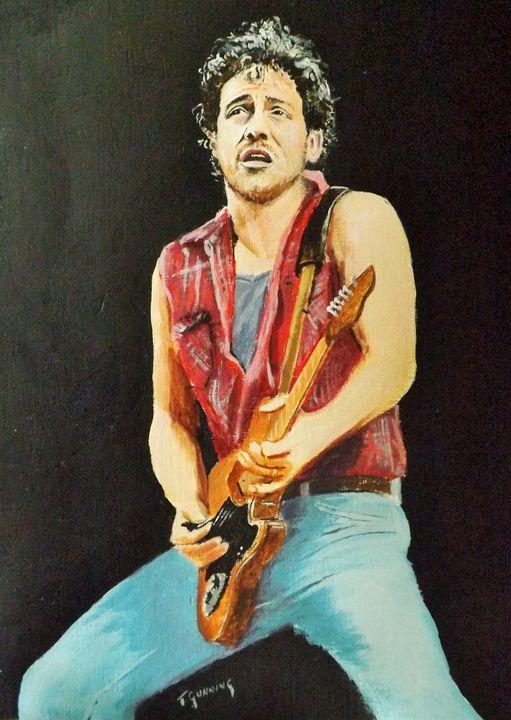 Bruce Springsteen - Blue Sky Art