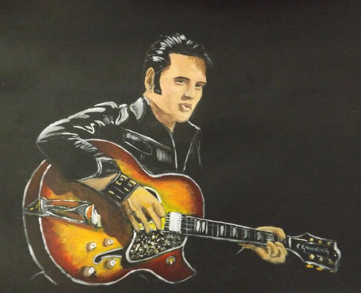 Elvis Presley - Blue Sky Art