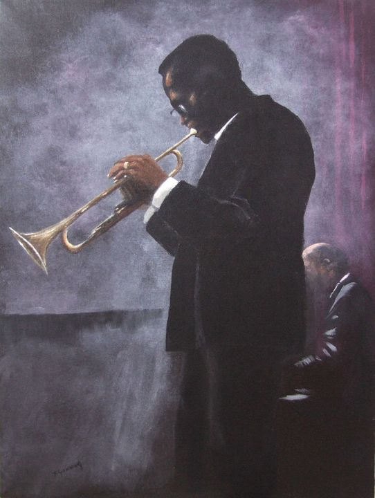 Miles Davis - Blue Sky Art