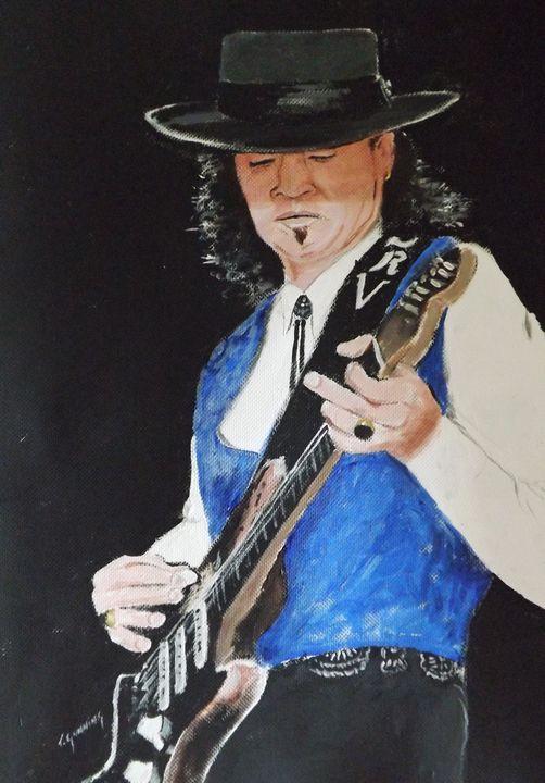Stevie Ray Vaughan - Blue Sky Art