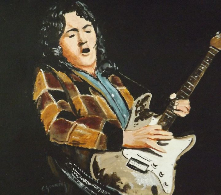 Rory Gallagher - Blue Sky Art