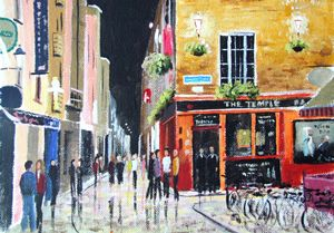 Night Scene, Temple Bar