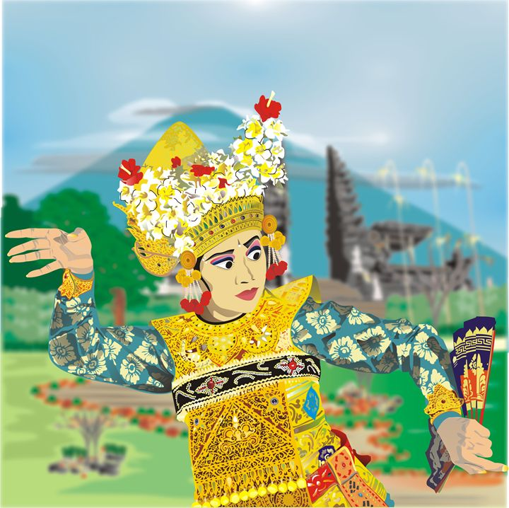 Balinese Dancer - Pontjo Hadijanto