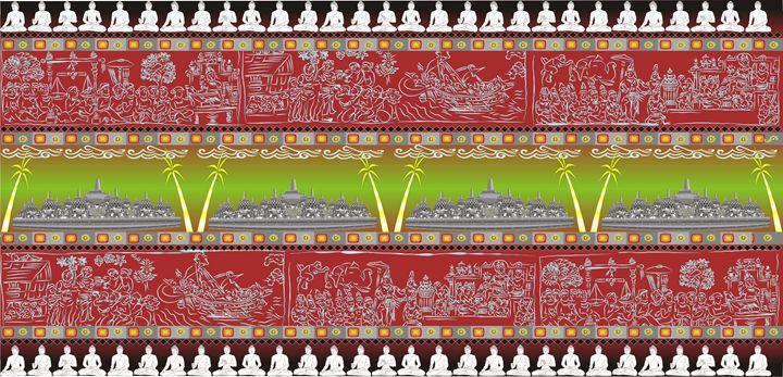 The Great Temple of Borobudur - Pontjo Hadijanto