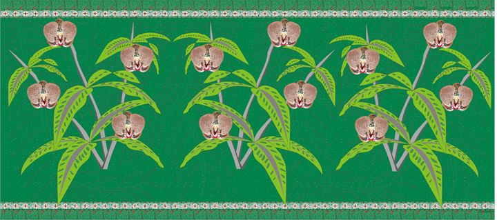 Batik Orchid - Pontjo Hadijanto