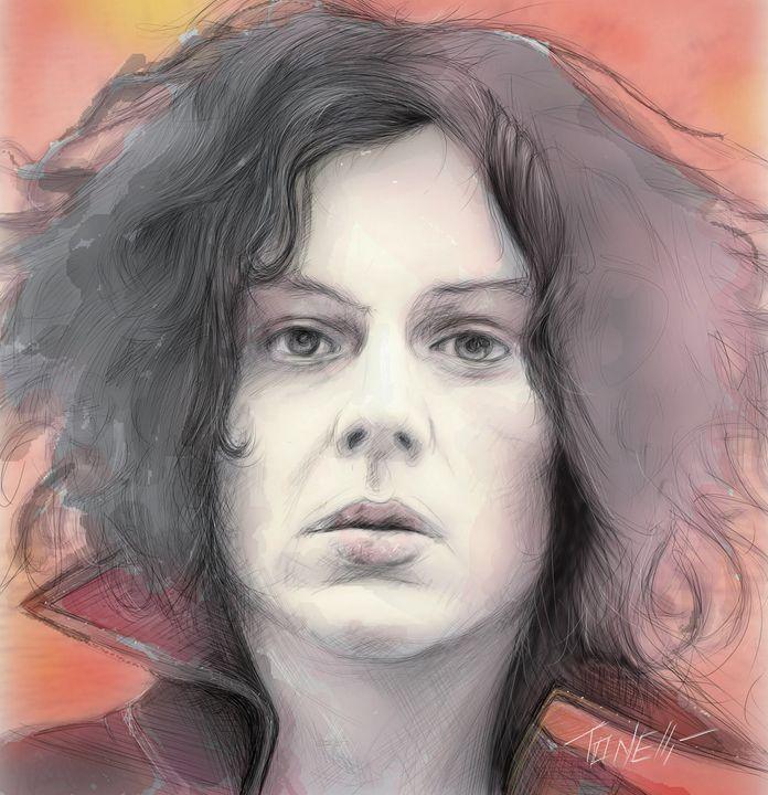 Jack White portrait - Tonelli Design