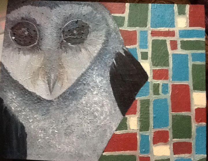 Owl - Hexsix Designs: unique art creations