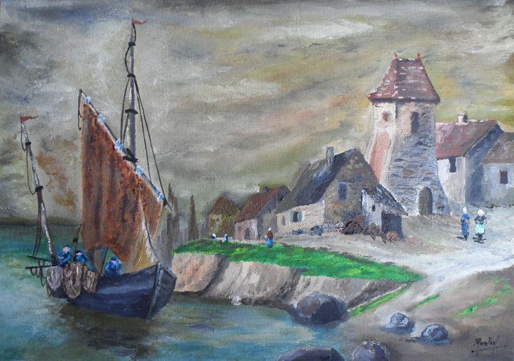 Paysage Breton - Jacky Monka