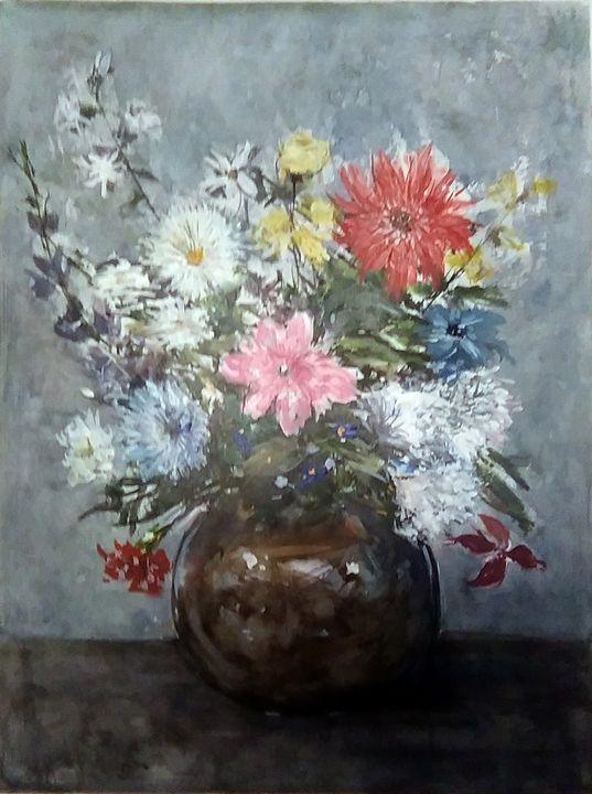 Bouquet Champêtre - Jacky Monka