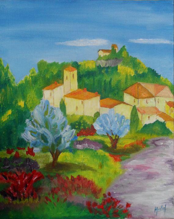 Village Provencale - Jacky Monka