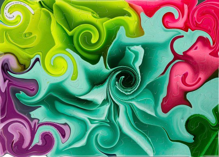 Swirls and Twirls - Yvonne Remington
