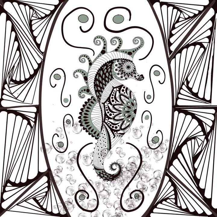 Seahorse Love - Yvonne Remington