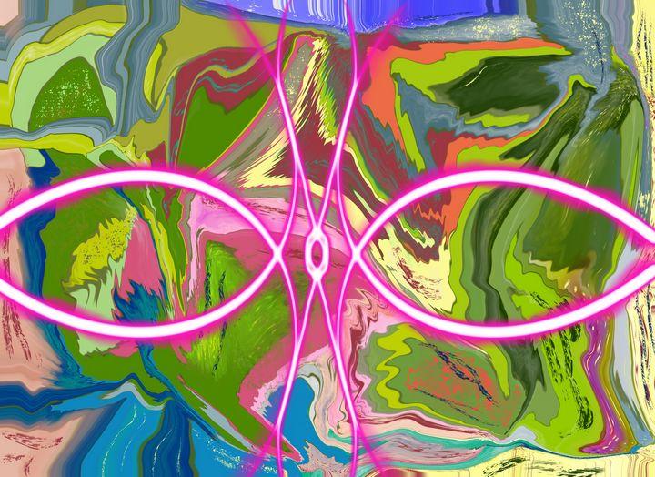 Neon Circles - Yvonne Remington