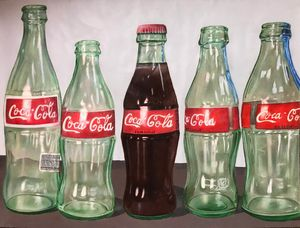 Coca-Cola Bottles Drawing