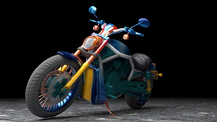 Fancy Motorcycle - The Humolion
