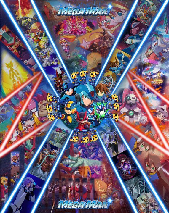 Megaman Poster - The Humolion