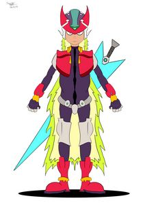 Megaman Zero (Solid colors)