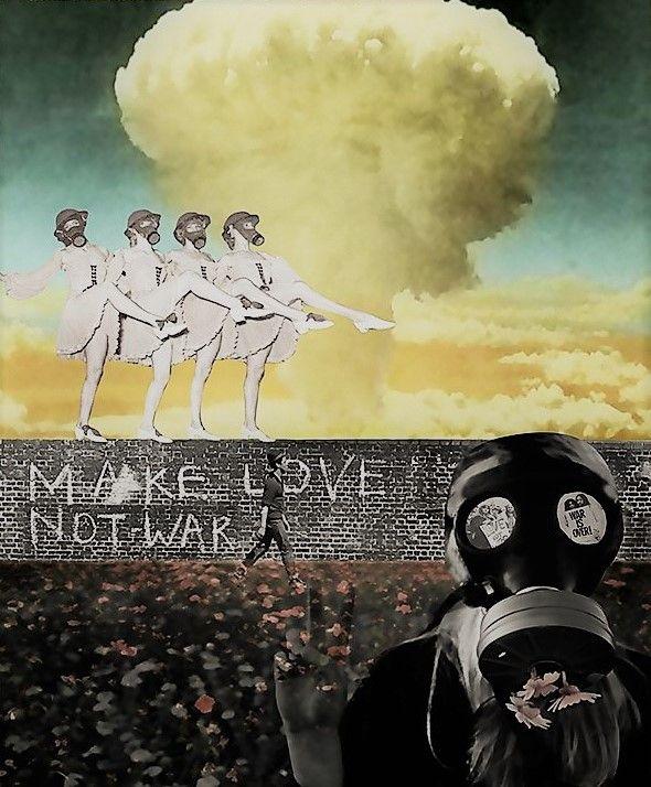 Make Love Not War - Live Art Gifts
