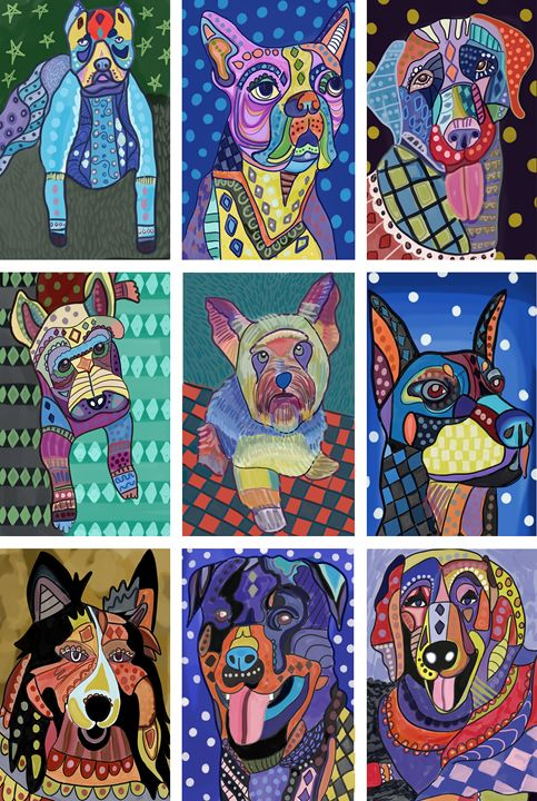 Dog Lovers - Live Art Gifts