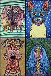 Cute Dogs - Live Art Gifts
