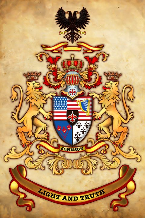 Family Crest - Live Art Gifts