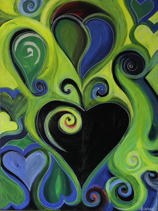 Green Spade - Lola Bouli Artwork