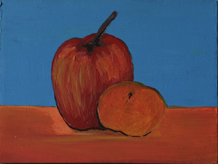 Apple & Apricot - Lola Bouli Artwork