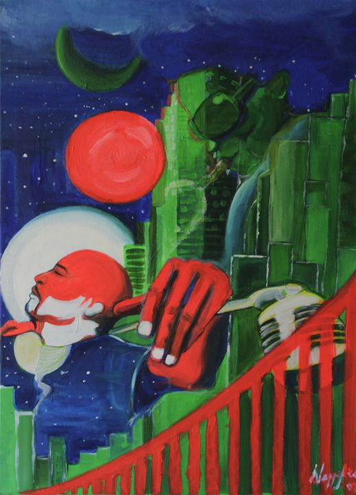 The Jazz man - Lola Bouli Artwork