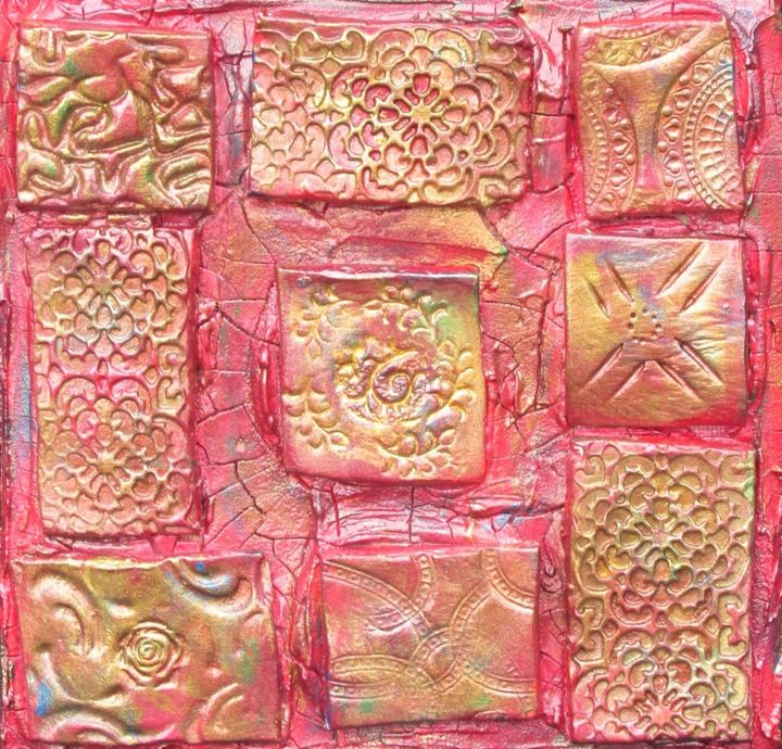 Red Tiles - By the Cross Creations