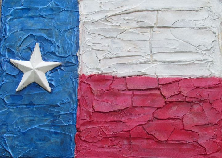 Texas flag - By the Cross Creations