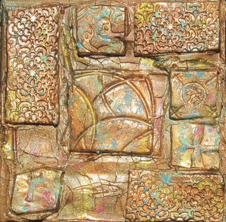 Tiles in Copper - By the Cross Creations