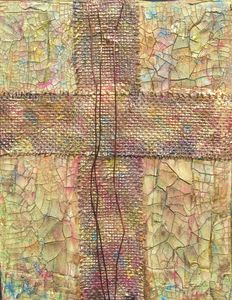 Rustic Cross with Wire