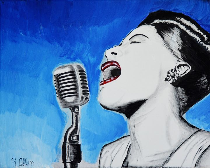 The voice of passion: Billy Holiday - Creative Artistic Collaborations