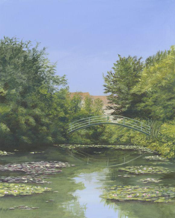Water Lilies, River Lot , France - Jon Sephton