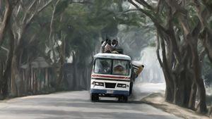 Loaded Bus to Sylhet - Hisham