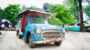 A Classic Old Truck, Phuket