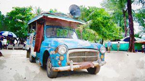 A Classic Old Truck, Phuket - Hisham