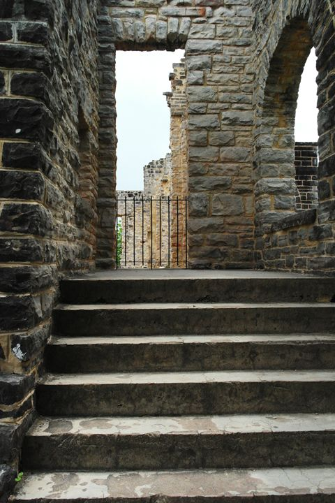Castle Steps - What I Saw From The Camera Lense