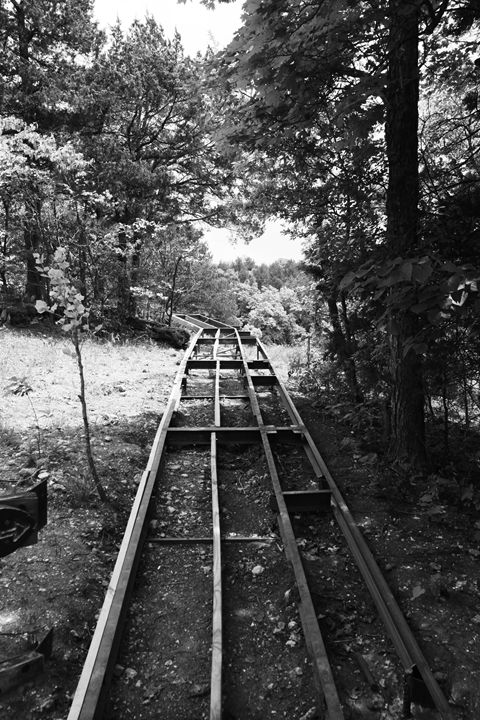 Pathway to Nowhere, Black and White - What I Saw From The Camera Lense